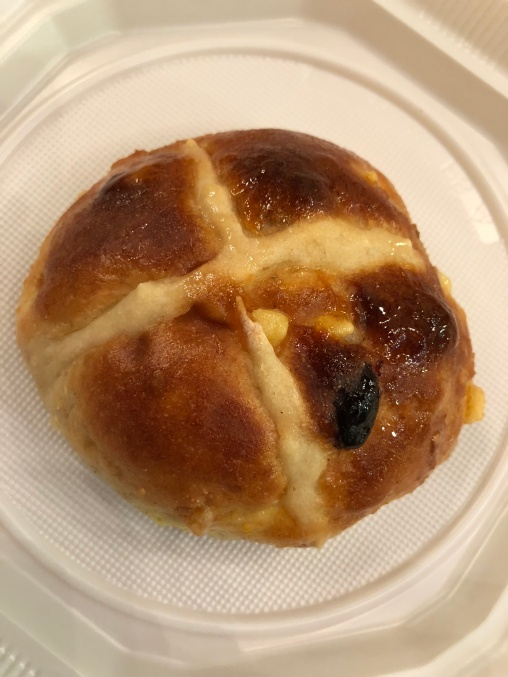 Homemade hotcross buns